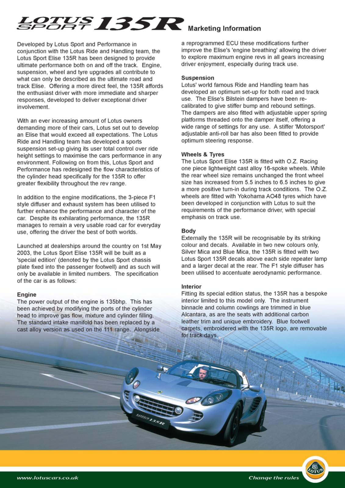 Lotus elise brochures and pdfs sport exige cup 260 2008 vanachro Image collections