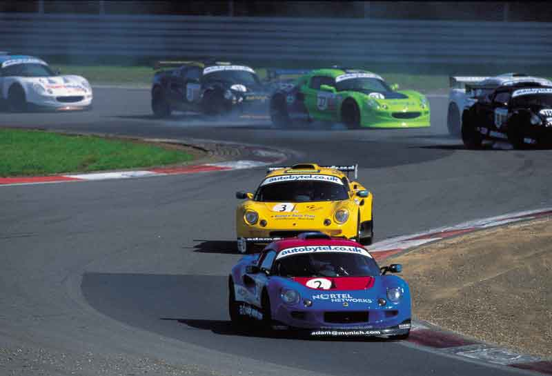 Autobytel lotus championship (nortel car leading)